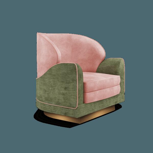 Jayne armchair by Ottiu