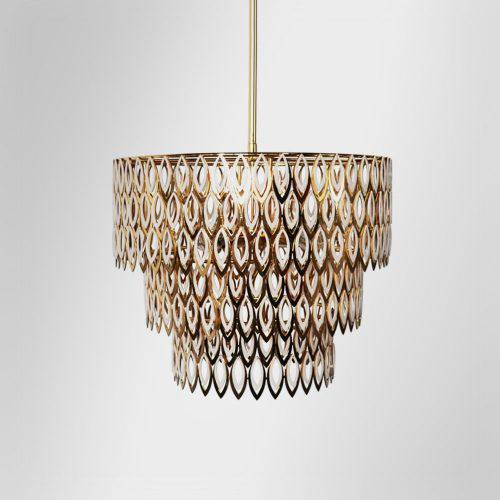 Nature inspired suspension lamps
