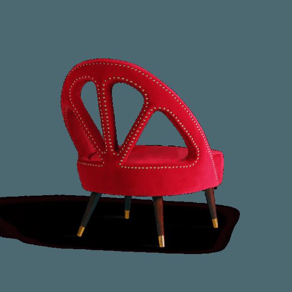 Scarlet armchair by Ottiu