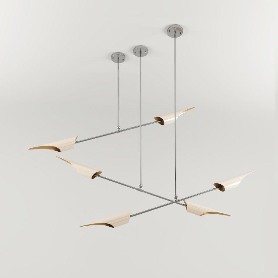 Swan suspension lamp 5